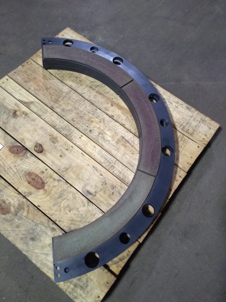 Press Clutch Plate - After