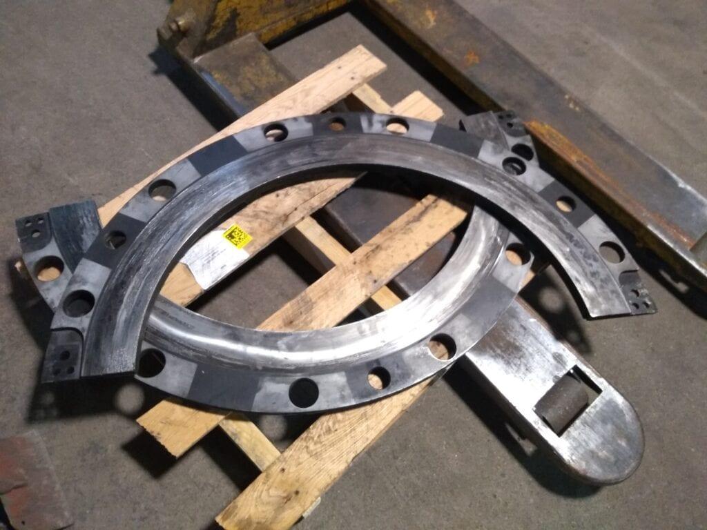 Press Clutch Plate - Before