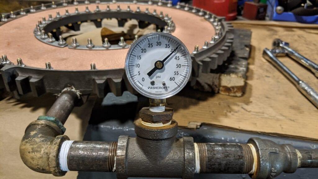 Wichita Water Jacket Pressure Testing